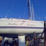 Yacht a vela  - Jonathan Livingston realizzazione con adesivo prespaziato 3M