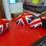tuning in adesivo - bandiera inglese